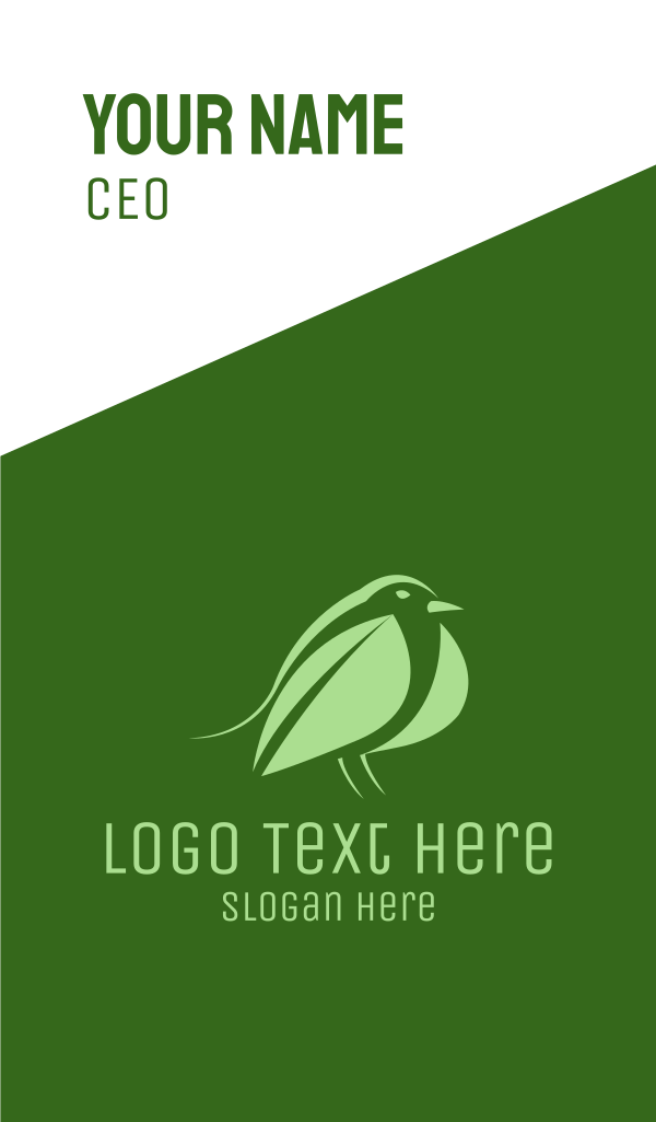 Leaf Bird Business Card