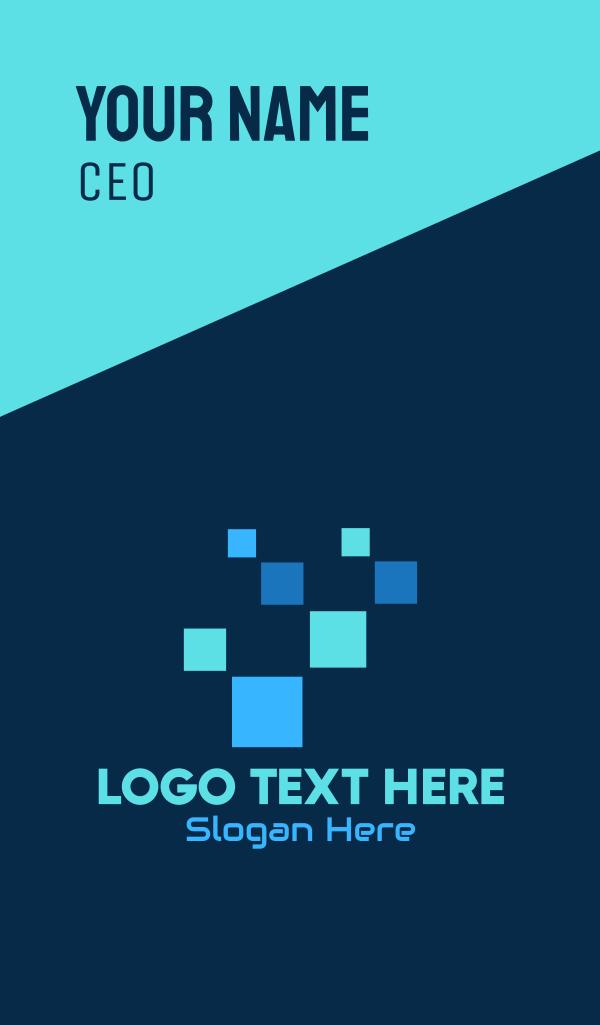 Digital Tech Pixels Business Card