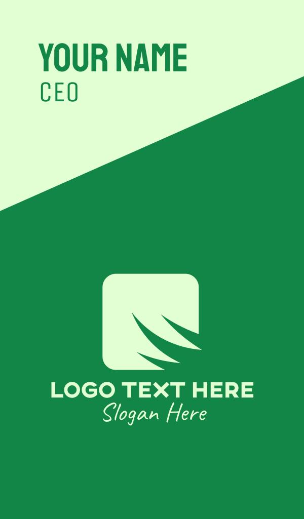 Green Grass Application Business Card