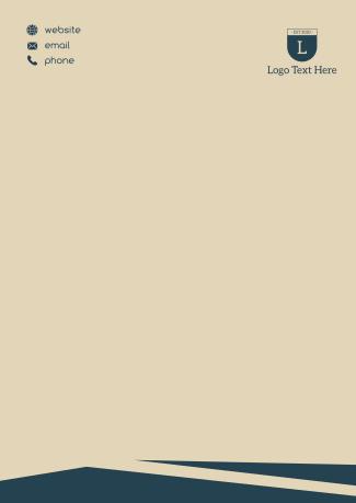 Simple Corporate Letterhead