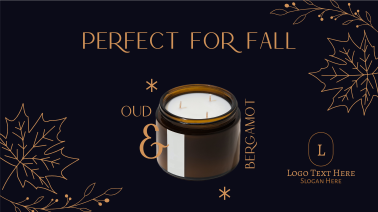 Fall Scented Candle Facebook event cover
