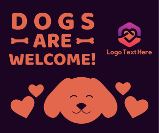 Dogs Welcome Facebook post