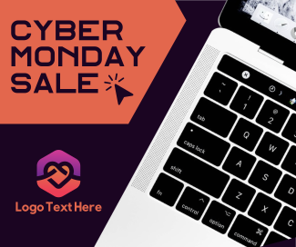 Cyber Monday Sale Facebook post