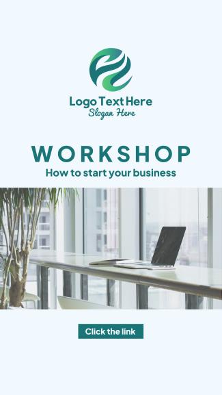Workshop Business Facebook story