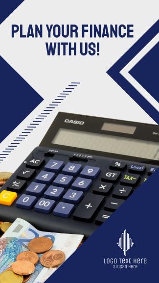 Savings Calculator Facebook story