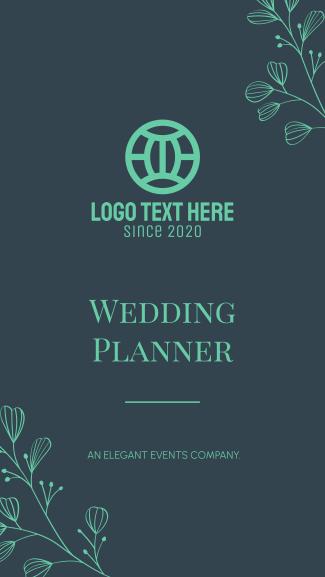 Wedding Planner Facebook story