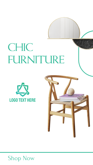 Chic Furniture Facebook Story