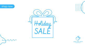 Holiday Sale Facebook event cover