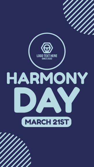 Harmony Week Facebook story