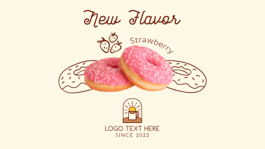 Strawberry Flavored Donut  Facebook event cover