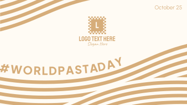 Flowy World Pasta Day Facebook event cover