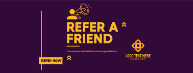 Refer A Friend To Earn Facebook cover