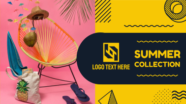 Summer Collection Facebook event cover