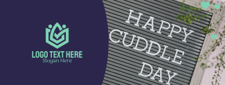 Happy Cuddle Day Facebook cover