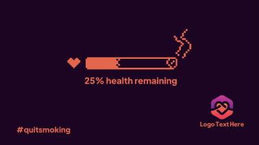 Health Bar Smoking Facebook Event Cover