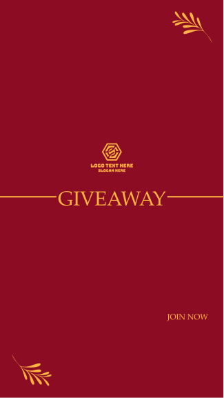 Giveaway Announcement Facebook story