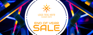 End Of The Year Sale Facebook Cover