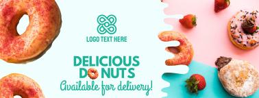 Donut Shop Facebook cover