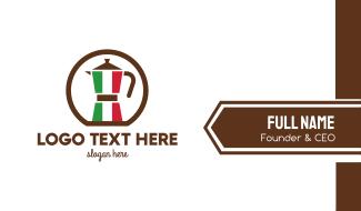 Italian Kettle  Business Card