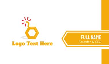 Honey Bomb Business Card