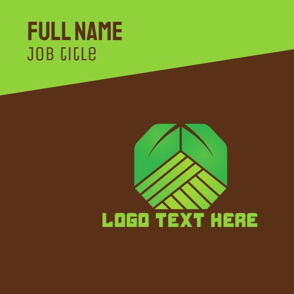 Green Plantation Business Card