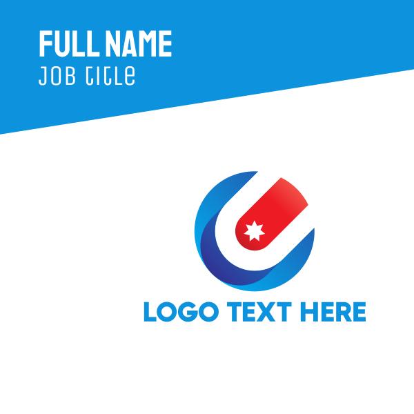 Star Circle Business Card