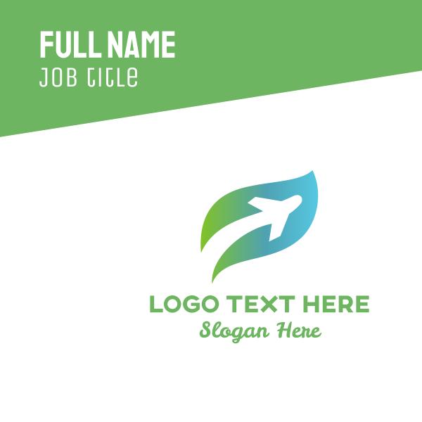 Leaf Plane Business Card