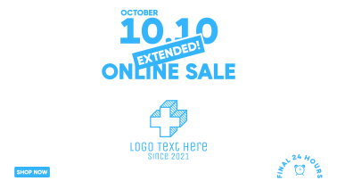Extended Online Sale 10.10  Facebook event cover