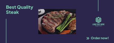 Steak Order Facebook cover