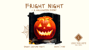 Fright Night Party Facebook Event Cover