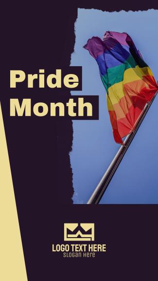Pride Month 2021 Facebook story