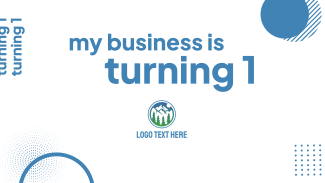 My Business Is Turning 1 Facebook event cover