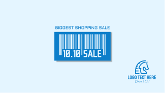 10.10 Sale Barcode Facebook event cover