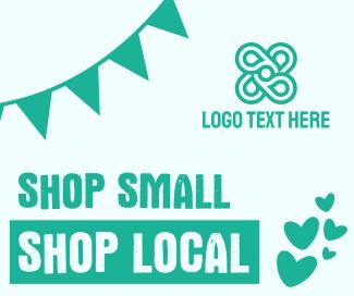 Shop Small Shop Local Facebook post