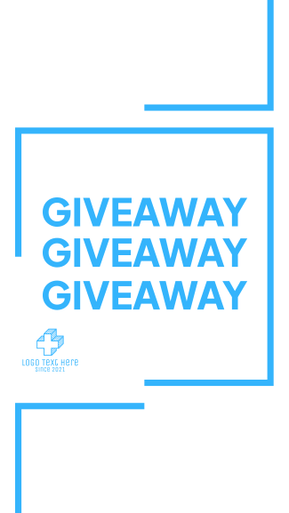 Giveaway Post Facebook story