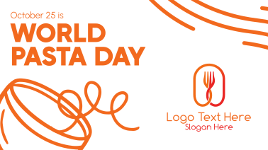 Quirky World Pasta Day Facebook event cover