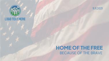America Veteran Flag Facebook event cover