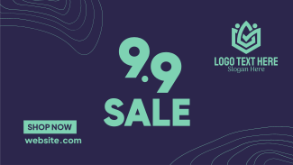 9.9 Sale Lines Facebook event cover