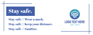 Stay safe Facebook cover
