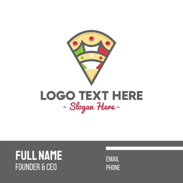 Italian Pizza Pizzeria Business Card