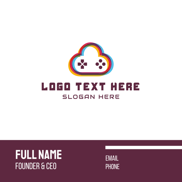 Game Cloud Business Card