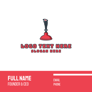 Plunger Games Business Card