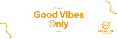 Good Vibes Only Twitter header (cover)