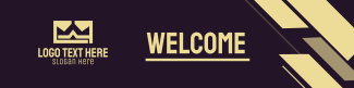 Geometric Lines LinkedIn banner