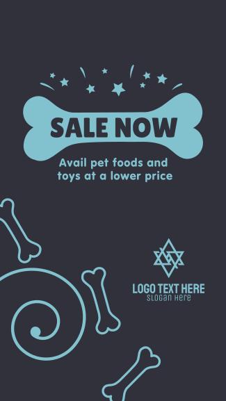 Pet Shop Sale Facebook story