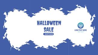 Halloween Sale Facebook event cover