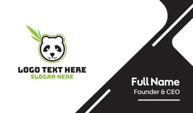 Leaf Panda Business Card