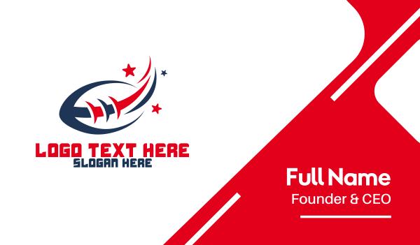 nfl - Football Sport Stars Business card horizontal design