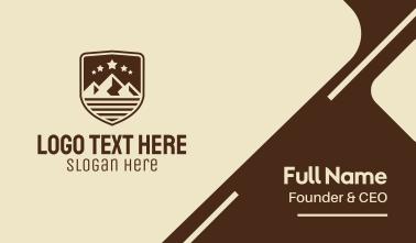 Mountain Shield Business Card