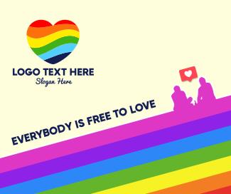 Pride Love Facebook post